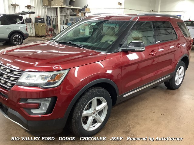 2017 Ford Explorer XLT 4WD 6-Speed Automatic