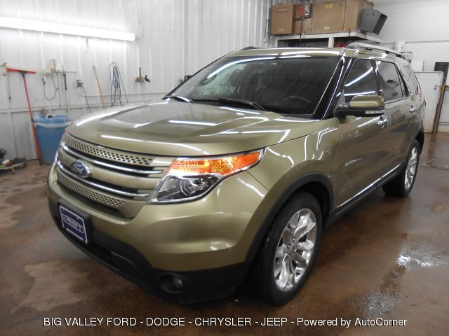 2013 Ford Explorer Limited 4WD 6-Speed Automatic