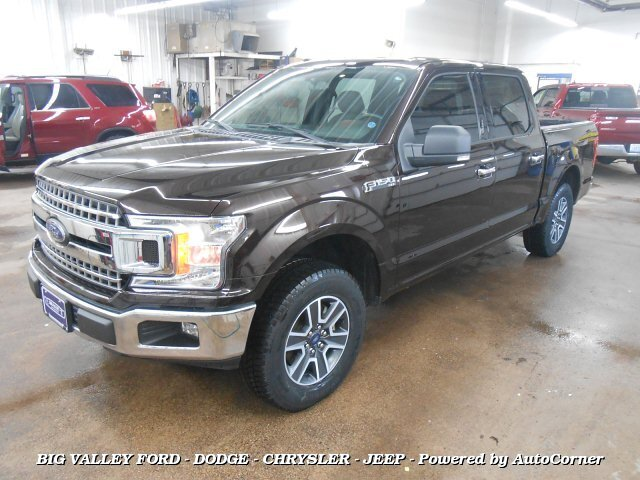 2018 Ford F-150 XLT Crew Cab 4x2 5.5ft Bed